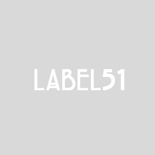 Pedaalemmer grijs metaal M verschillende kleuren label 51