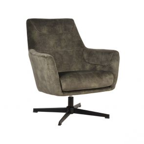 Fauteuil Toby Hunter Velours 1