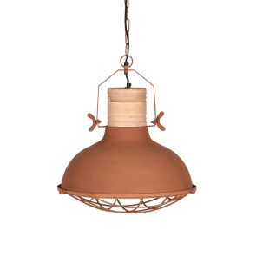 Hanglamp Grid 34 cm Rust 1
