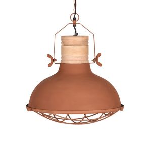 Hanglamp Grid 52 cm Rust 1